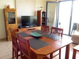 Kitchen and Lounge area of luxury house to rent Arinaga