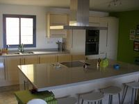 The kitchen area of the high quality house to let