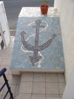 Nautilus Apartments in Gran Canaria have been finished to a high standard with Gaudy style nautical murals.