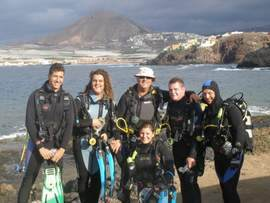 dive all the year round in Gran Canaria