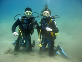 Take a try-dive in the el Cabrón marine reserve