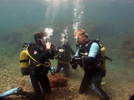 PADI course in the warm subtropical waters of Gran Canaria