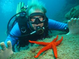 Starfish and dive gran canaria