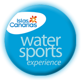 Official Water Sports logo awarded by the Gobierno de Canarias
