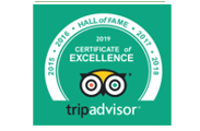 Tripadvisor Certificate of Excellence for Diving Centre