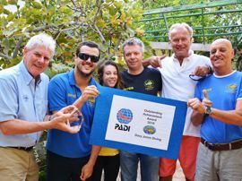 PADI Award for Outstanding Achievement 2018