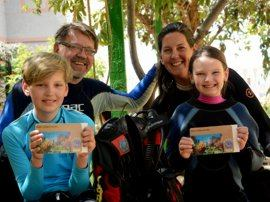 in Gran Canaria the whole family can dive