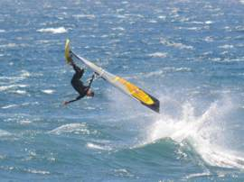Learn to Windsurf in the warm subtropical waters of Gran Canaria