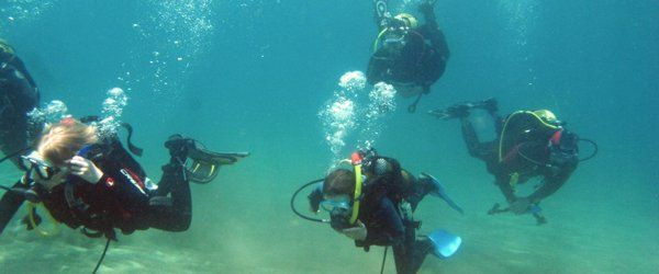 scuba diving for juniors Gran Canaria