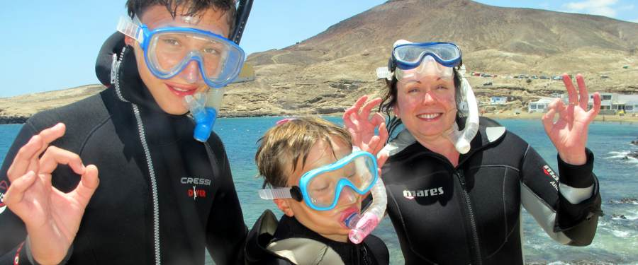 dive with PADI in Gran canaria