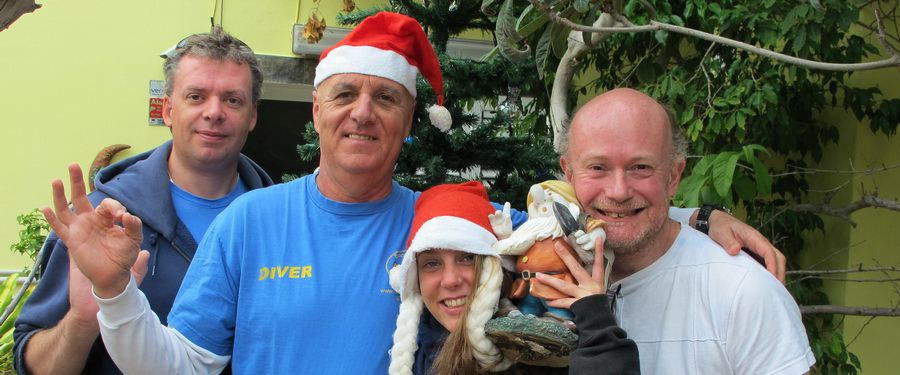 Dive centre gran canaria at Christmas and New Year