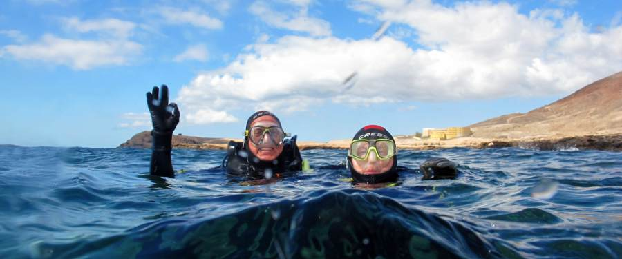 PADI training Course Gran Canaria