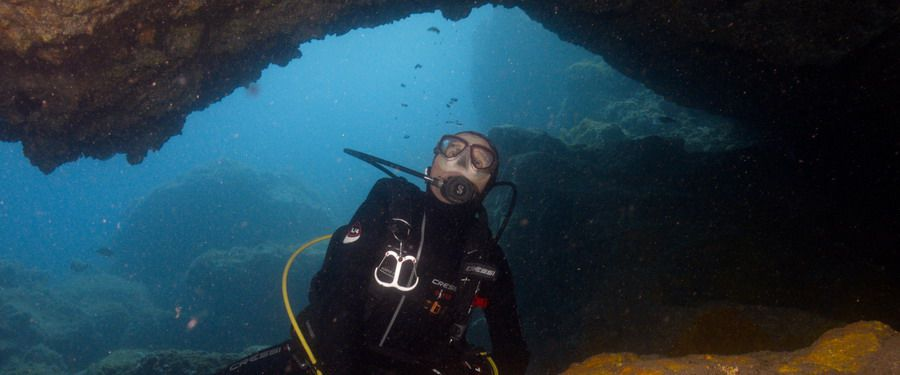 advanced diving Gran canaria