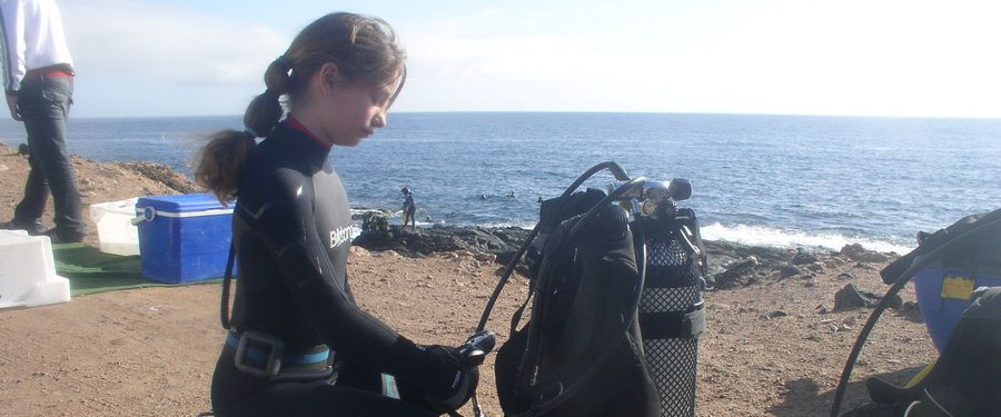 diving with nudibranch in gran canaria