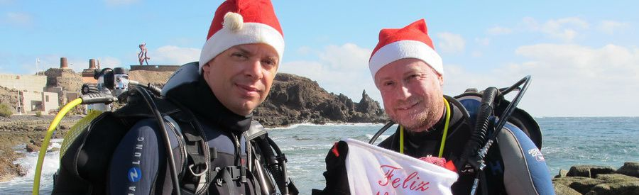 dive december or new year in gran canaria-