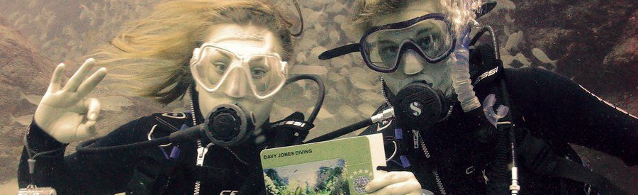 learn to scuba dive warm waters